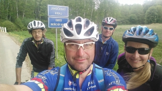 Cyklistická akce přes všechny Rataje