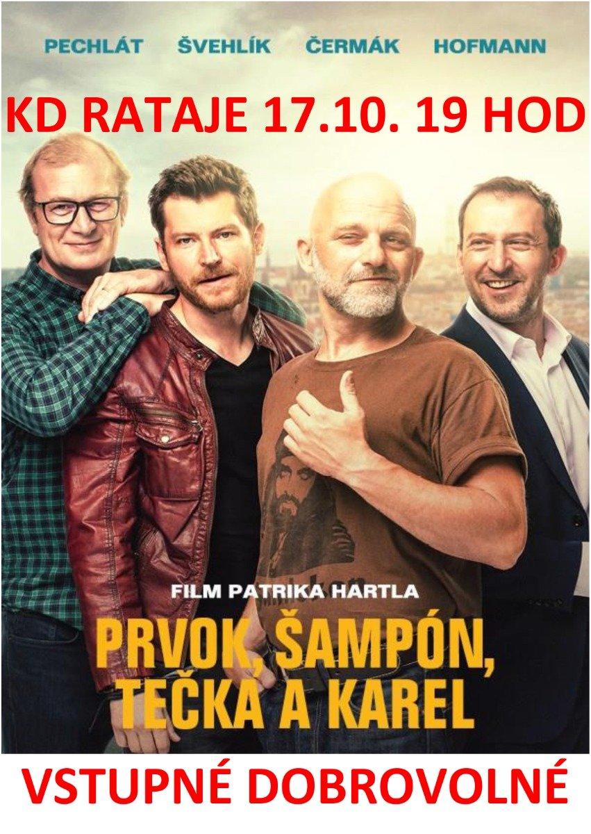 Pozvánka - kino Rataje 17.10. od 19:00