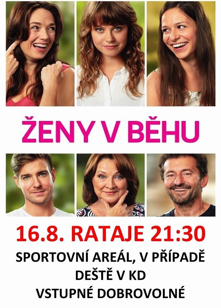 Letní kino - ŽENY V BĚHU